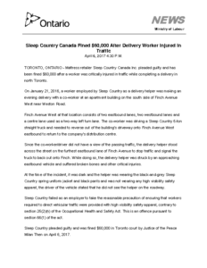 sleep-country-canada-fined-60000-after-delivery-worker-injured-in-traffic