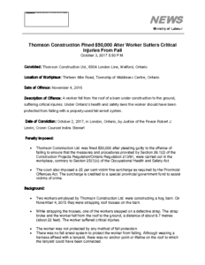 thomson-construction-fined-50000-after-worker-suffers-critical-injuries-from-fall