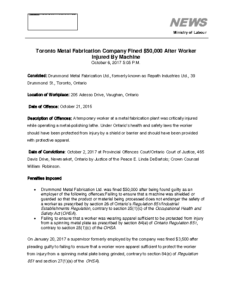 toronto-metal-fabrication-company-fined-50000-after-worker-injured-by-machine